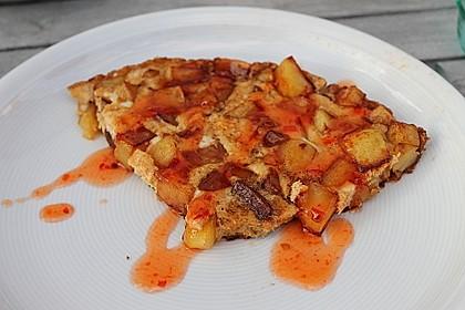 Traditionelle spanische Tortilla 40