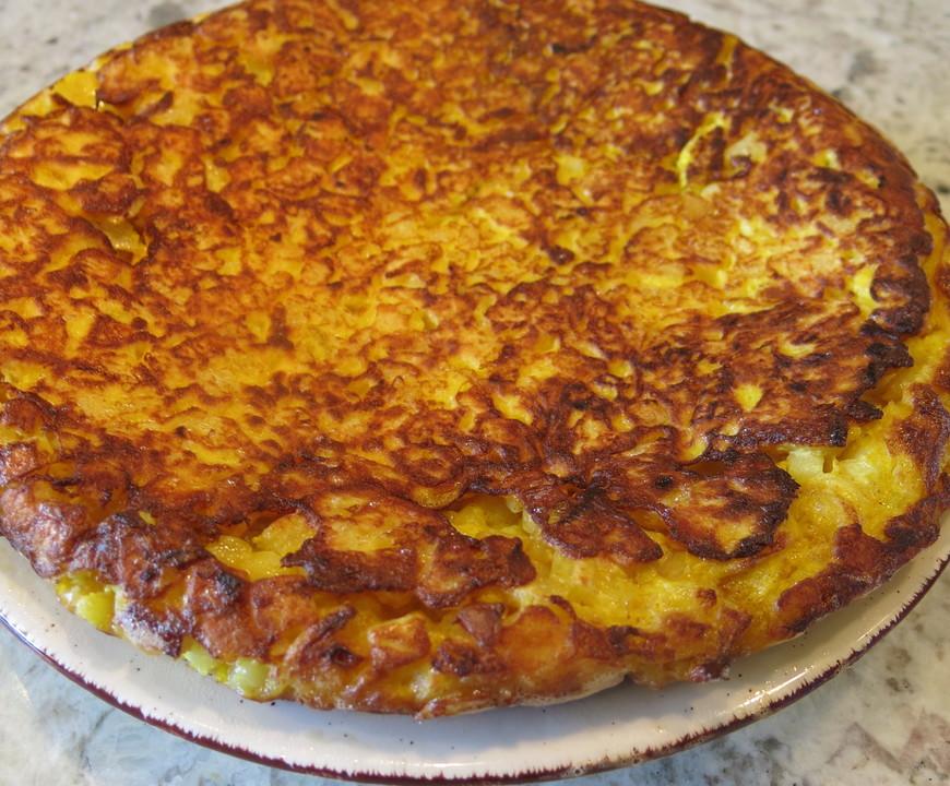 Traditionelle spanische Tortilla 21