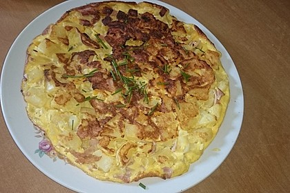 Traditionelle spanische Tortilla 37