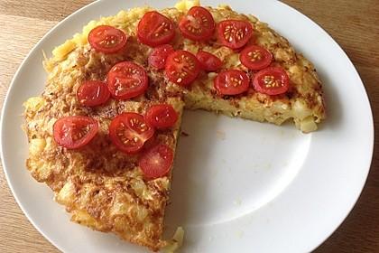 Traditionelle spanische Tortilla 8