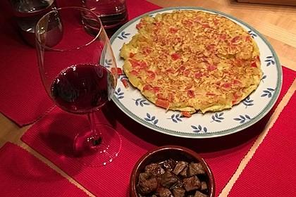 Traditionelle spanische Tortilla 24