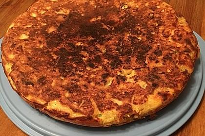 Traditionelle spanische Tortilla 29