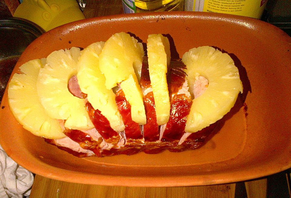 Kasseler Mit Ananas