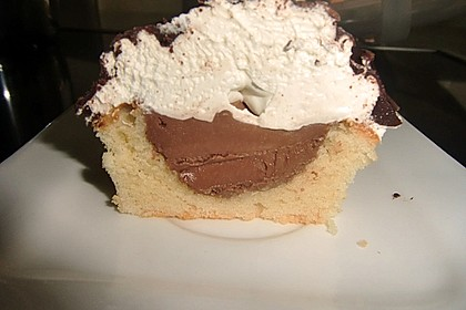 Cupcakes mit Schokohaube