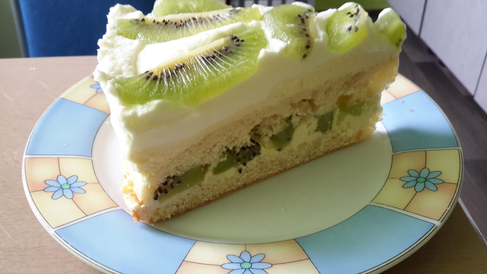 kiwi torte rezept mit bild von februar28. Black Bedroom Furniture Sets. Home Design Ideas