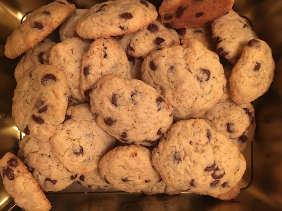 schoko cookies rezept chefkoch hausrezepte von beliebten kuchen. Black Bedroom Furniture Sets. Home Design Ideas