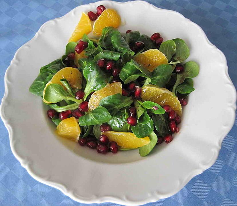 fruchtiger granatapfel salat rezept mit bild von dashuri. Black Bedroom Furniture Sets. Home Design Ideas
