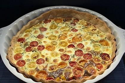 Tomaten-Mozzarella-Tarte 11