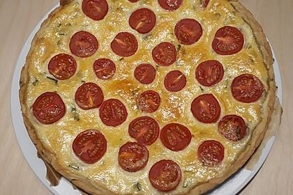 Tomaten-Mozzarella-Tarte 9