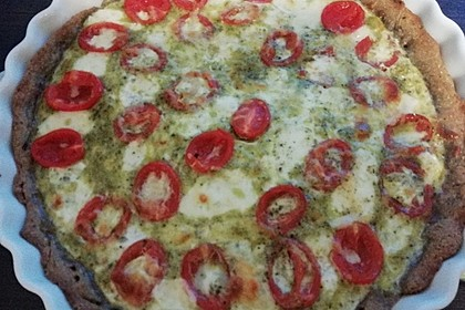 Tomaten-Mozzarella-Tarte 12