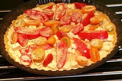 Tomaten-Mozzarella-Tarte 4
