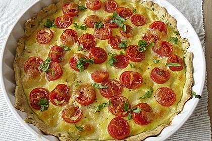 Tomaten-Mozzarella-Tarte 8
