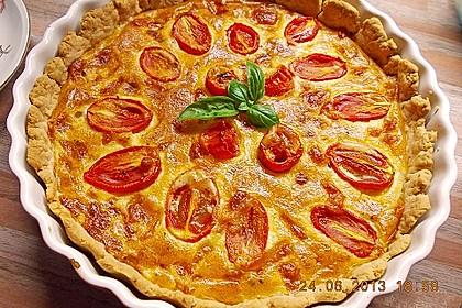 Tomaten-Mozzarella-Tarte 2