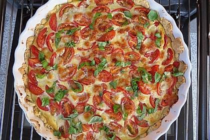 Tomaten-Mozzarella-Tarte 1