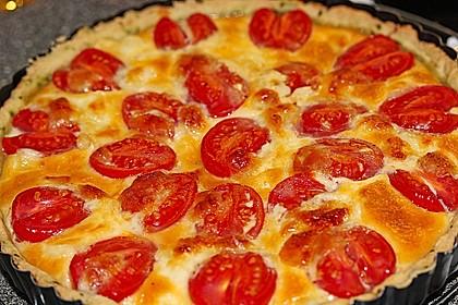 Tomaten-Mozzarella-Tarte 5