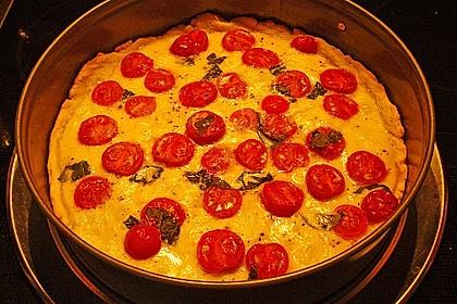 Tomaten-Mozzarella-Tarte 16