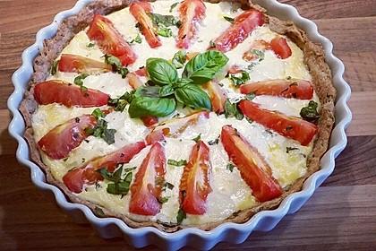 Tomaten-Mozzarella-Tarte 7