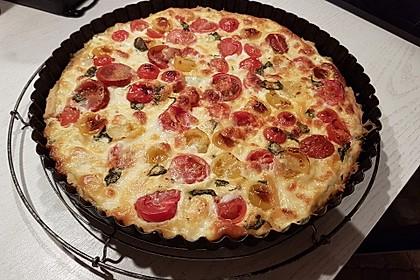 Tomaten-Mozzarella-Tarte 6