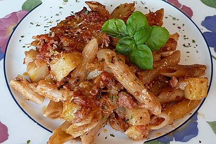 Italialadys Pasta e patate al forno