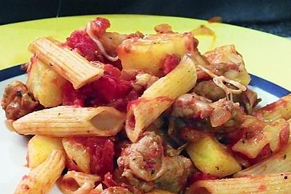 Italialadys Pasta e patate al forno 1