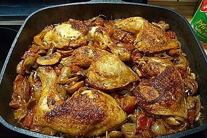 krümeltigers geschmorte Hühnerkeulen 4