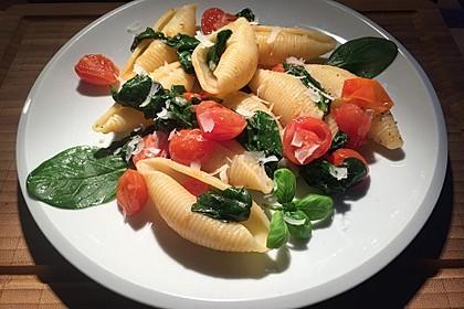 Tomaten-Spinat-Pasta 1
