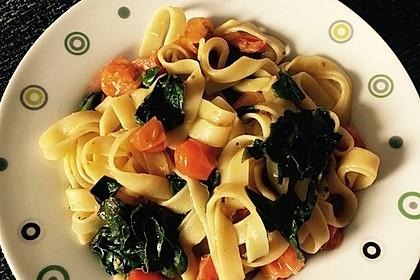 Tomaten-Spinat-Pasta 15