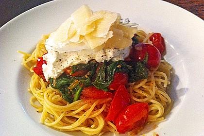 Tomaten-Spinat-Pasta 11