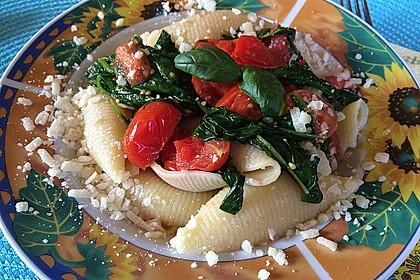 Tomaten-Spinat-Pasta 3