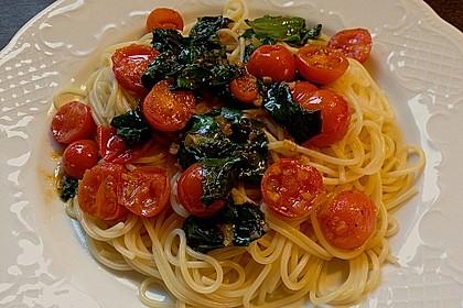 Tomaten-Spinat-Pasta 5