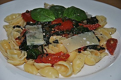 Tomaten-Spinat-Pasta 12
