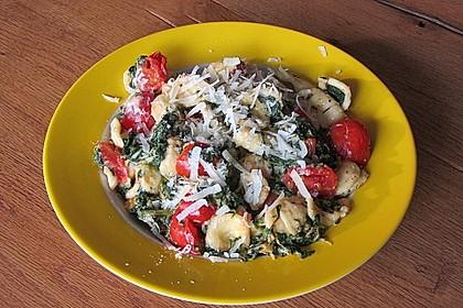 Tomaten-Spinat-Pasta 4