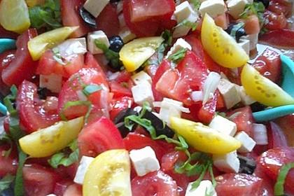 Griechischer Tomatensalat à la Dimitrios 10
