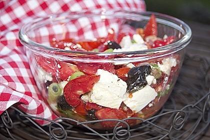 Griechischer Tomatensalat à la Dimitrios 5