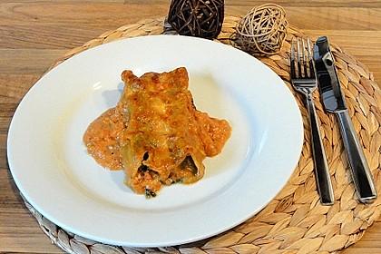 Vegetarisch gefüllte Cannelloni 1