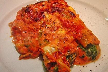 Vegetarisch gefüllte Cannelloni 2