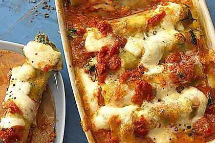 Vegetarisch gefüllte Cannelloni 6