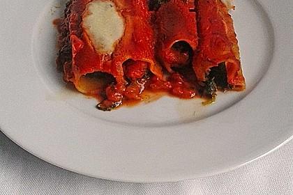 Vegetarisch gefüllte Cannelloni 9