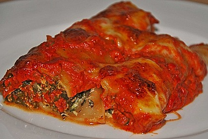 Vegetarisch gefüllte Cannelloni 17
