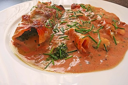 Vegetarisch gefüllte Cannelloni 7