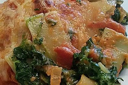 Vegetarisch gefüllte Cannelloni 11