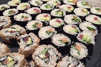 Sushi Variationen auf meine Art 4