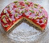 Erdbeer-Kiwi-Biskuit