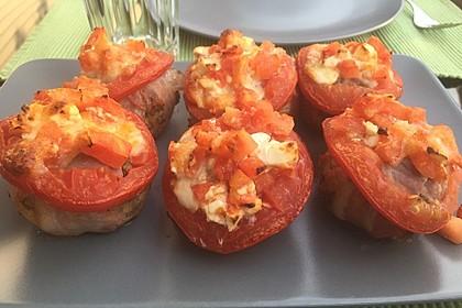 Mediterranes Tomaten-Mozzarella-Hacksteak 1