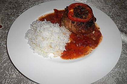 Mediterranes Tomaten-Mozzarella-Hacksteak 13