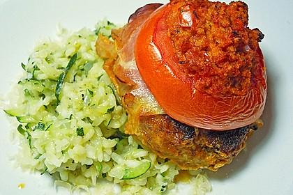 Mediterranes Tomaten-Mozzarella-Hacksteak 7