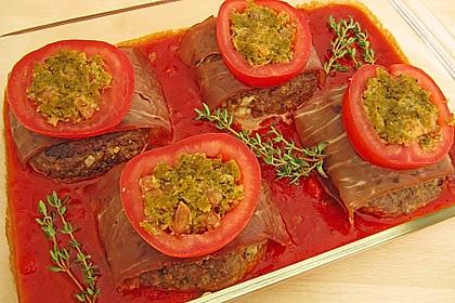 Mediterranes Tomaten-Mozzarella-Hacksteak 8