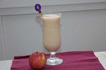 Apfel-Bananen Smoothie 6