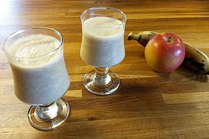 Apfel-Bananen Smoothie 5