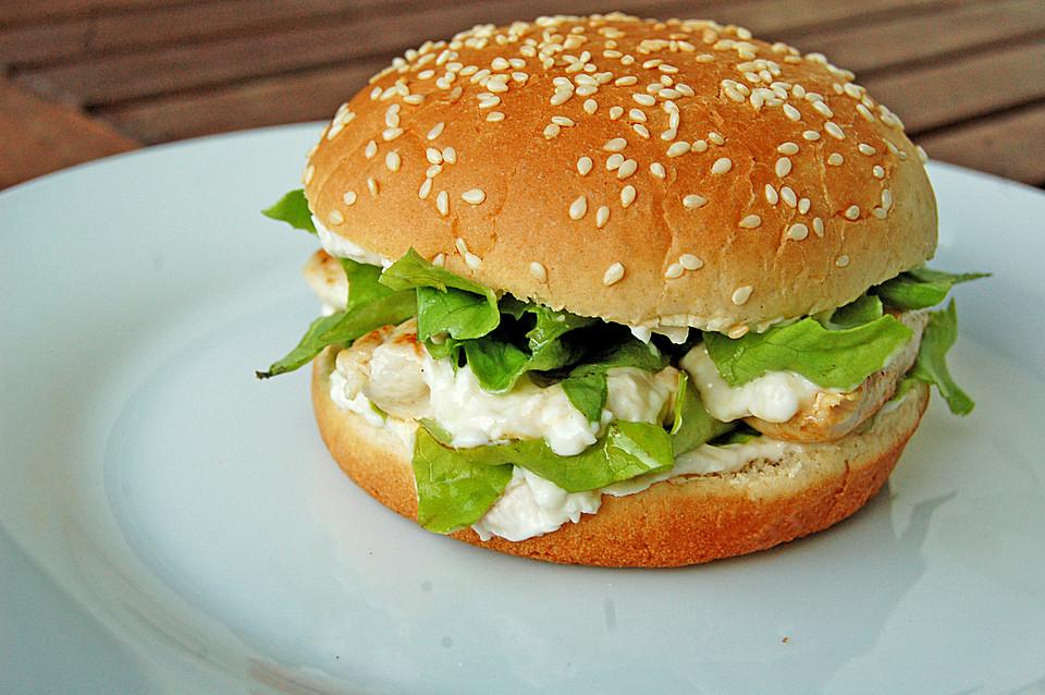 Caesar`s Salad-Chicken-Burger (Rezept mit Bild) von SOSKoechin ...